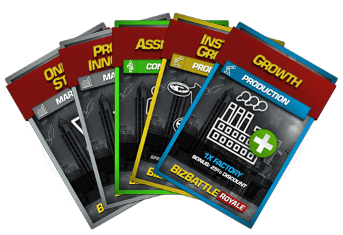 Business Game Cards Deck